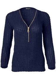 Alternate View V-Neck Zip Up Sweater