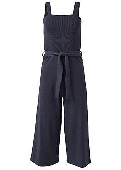 plus size culotte lounge jumpsuit