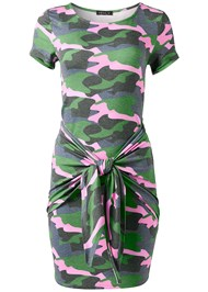 Alternate View Tie Front Lounge Dress