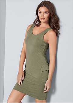 cargo lounge dress