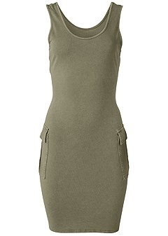 plus size cargo lounge dress