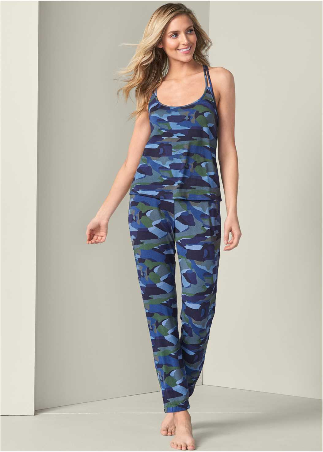 Print Sleep Pant Set