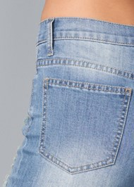 Alternate View Distressed Jean Capris