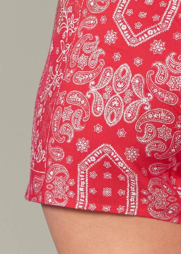 Alternate View Tie Front Skorts