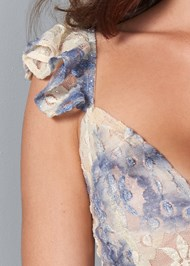 Alternate View Tie Dye Lace Top