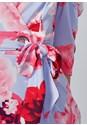 Alternate View Floral Faux Wrap Dress
