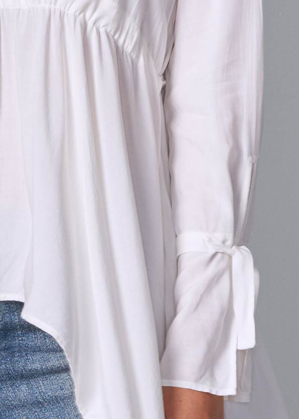 Alternate View High Low Blouse