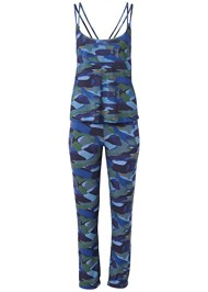 Ghost with background  view Print Sleep Pant Set