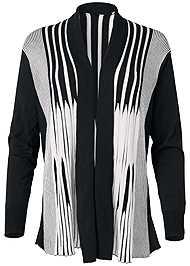 Alternate View Striped Cardigan