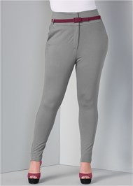 Front View High Waist Pant
