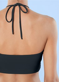 Detail back view Cross Over Bandeau Top