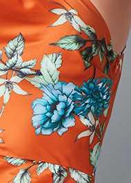 Alternate View One Shoulder Ruffle Dress