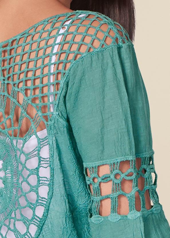 Alternate View Crochet Top