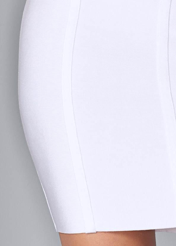 Alternate View Slimming Bodycon Dress