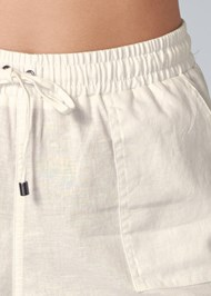 Alternate View Linen Drawstring Shorts