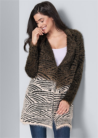 Cozy Printed Duster