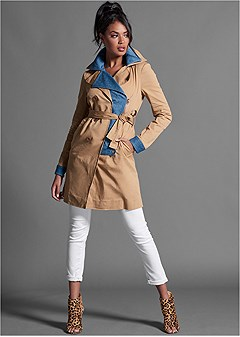 twofer trench coat
