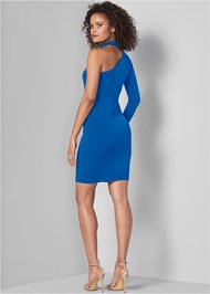 Full back view Strappy Detail Dress