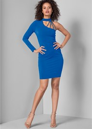 Full front view Strappy Detail Dress