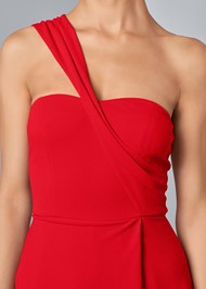 Alternate View One Shoulder Jumpsuit