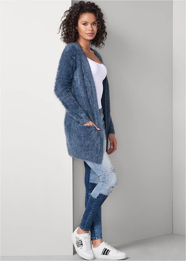 Front View Cozy Cardigan