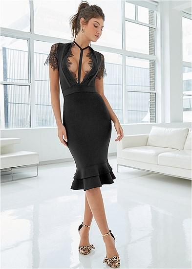 Slimming Strappy Dress