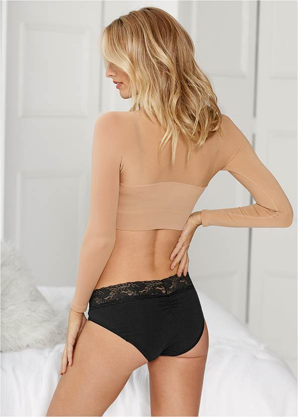 Cropped back view Bustless Arm Shaper