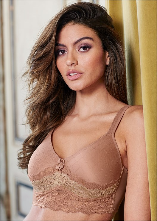 PULLOVER LACE BRA,EVERYDAY YOU HIPSTER PANTY