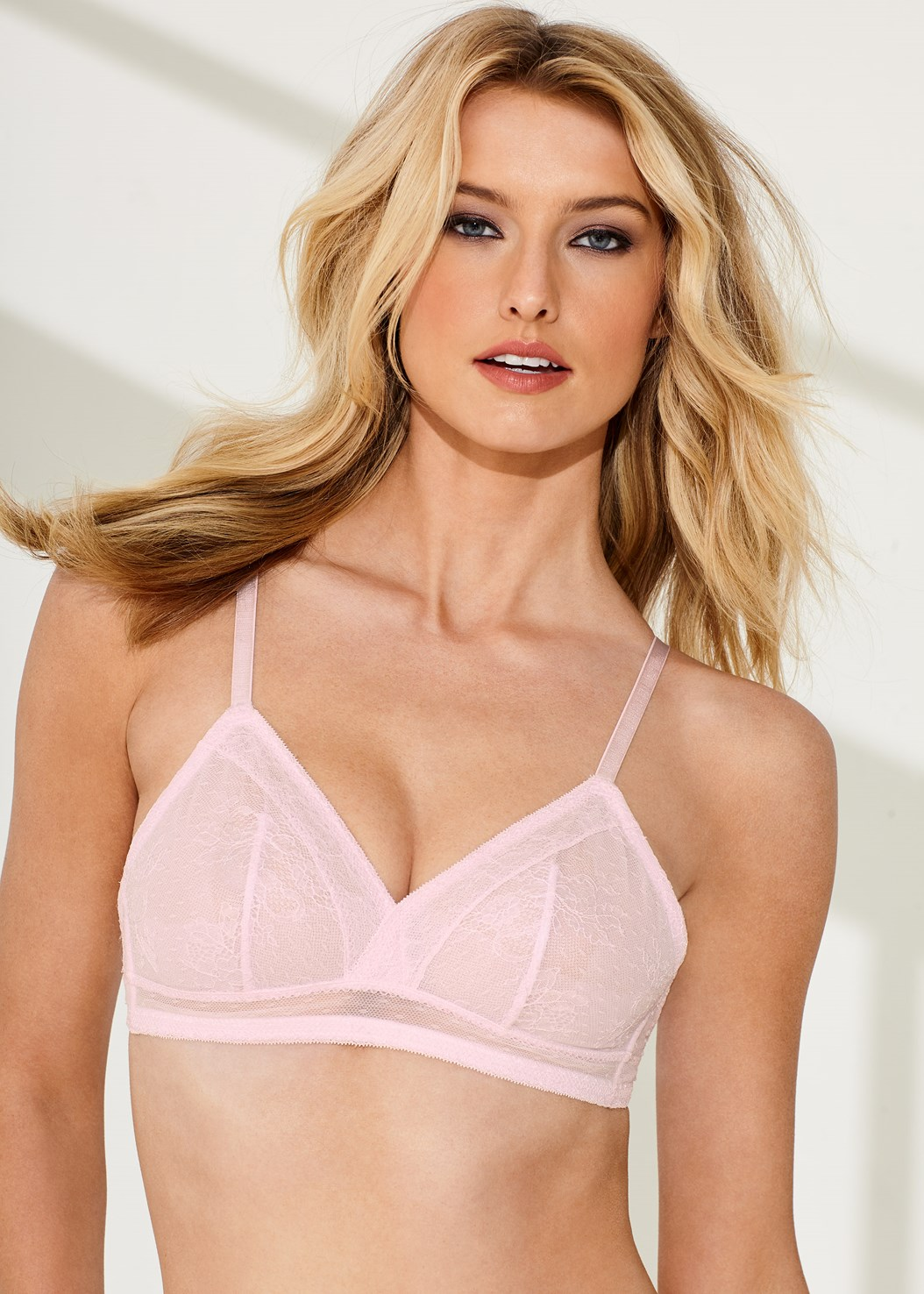 Unlined Triangle Bra