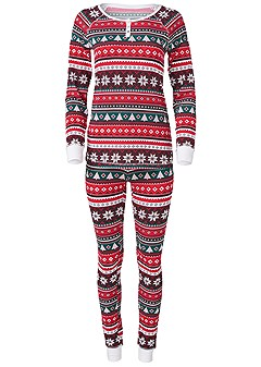 plus size holiday pajamas