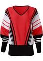Alternate View Striped Sweater