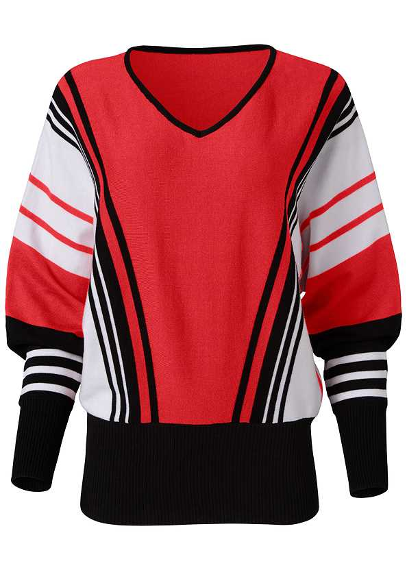 Striped Sweater,Mid Rise Slimming Stretch Jeggings,Cut Out Detail Boots