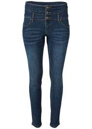 Alternate View High Waisted Skinny Jeans