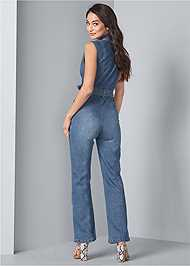 Alternate View Denim Jumpsuit