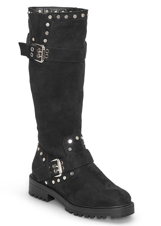 STUD DETAIL BOOTS