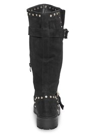 Back View Stud Detail Boots