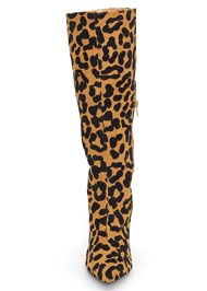 Shoe series front view Leopard Boots