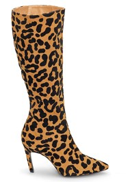 Shoe series side view Leopard Boots