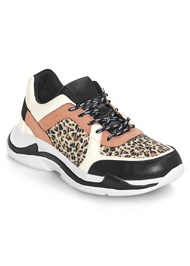 Front View Animal Print Sneakers
