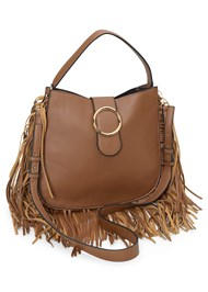 Front View Fringe Handbag