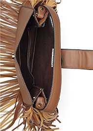 Alternate View Fringe Handbag