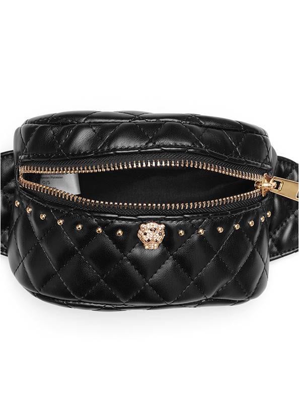 Alternate View Quilted Belt Bag