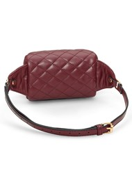 Back View Quilted Belt Bag