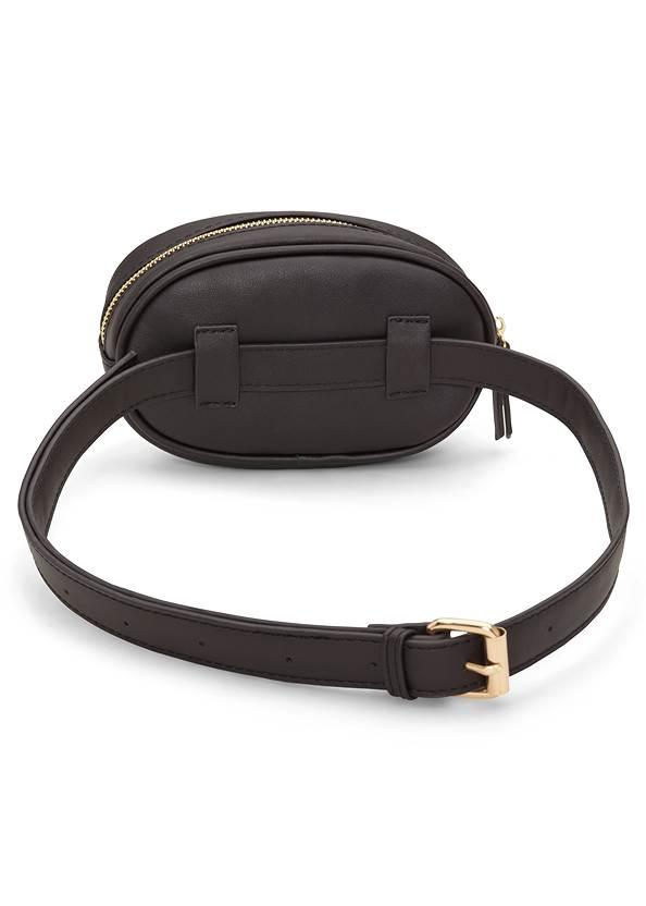 Back View Print Belt Bag
