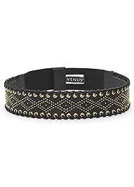 Front View Embellished Waist Belt