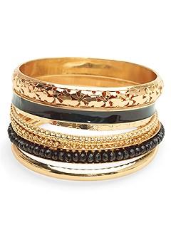 multi color bangle set