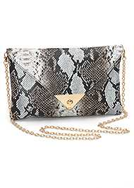 Front View Python Clutch