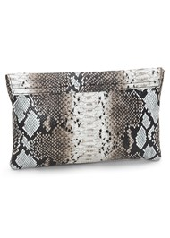 Back View Python Clutch