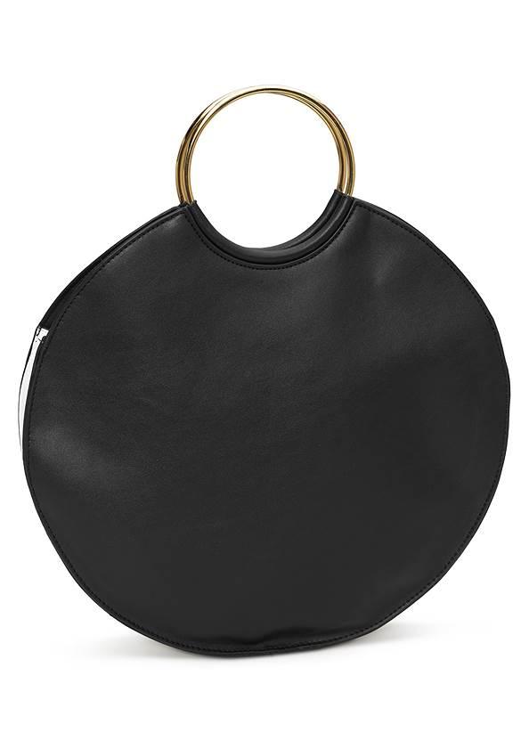 Flatshot back view Ring Detail Oversized Bag