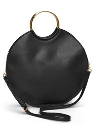 Flatshot front view Ring Detail Oversized Bag